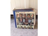 Job lot old vinyl some not working could be used for art work