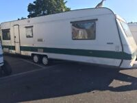 7 birth caravan to rent