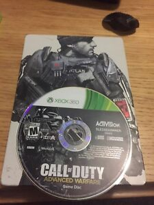 Advanced warfare with limited edition hard case