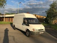 2006 ford transit 2.0 tdci mwb high top 12 months mot/3 months warranty