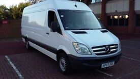 2007 EXCELLENT CONDITION 311 cdi Mercedes sprinter lwb panel van reduced !!!!