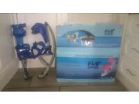 Fly Jumper Powerizers Jumping Stilts 50kg Junior Teen Small adults. Like new condition with box