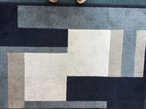 """Two area rugs 63""""x90"""""""