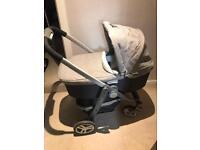 Travel system pram pushchair - like new!