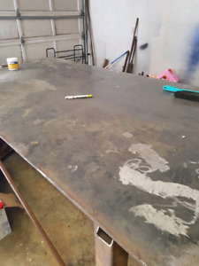 """4x8   3/8"""" fab and welding  table."""