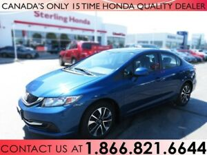 2013 Honda Civic EX | 1 OWNER | SUNROOF | BLUETOOTH