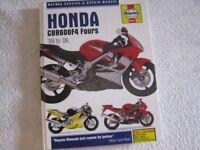 Haynes Honda CBR600F4 Fours '99 to '06