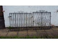 Wrought Iron Gates - 2 pairs