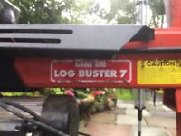 Log splitter with stand