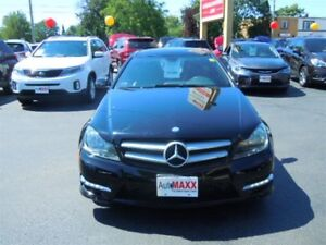 2013 MERCEDES BENZ C-CLASS BASE- PANORAMIC SUNROOF, LEATHER HEAT