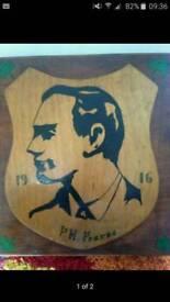 Patrick pearse plaque