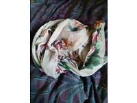 Accessorize floral scarf
