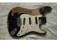 John Mayer Style Stratocaster Body