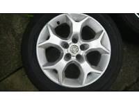 Vauxhall Snowflake Alloy Wheels