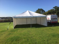 6mx6m Canvas Events Marquee