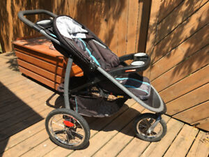 Graco Fast Action Fold Click Connect Jogger Travel System