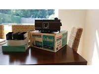 SLIDE PROJECTOR FOR 35MM TRANSPARENCIES PLUS ACCESSORIES