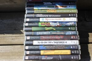 14  PSP  GAMES  ALL FOR ONLY  $100.00 OR $20.00 EACH