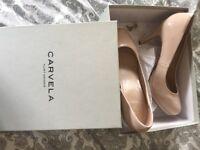 Ladies size 5 CARVELLA, KURT GEIGER nude shoes