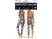Playsuit & jumpsuit both size 12-14