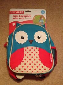 Mini backpack with reins £5