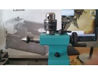 Axminster model engineers lathe CO, as new