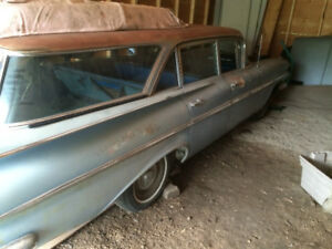 1959 CHEVROLET WAGON CALIFORNIA CAR SOLID FLOORS AND ROCKERS EXC