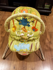 Bouncy chair from Fisher Price