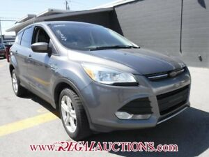 2014 FORD ESCAPE SE 4D UTILITY 4WD SE