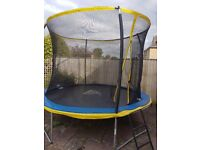 Zero Gravity Ultima 4 10ft trampoline with safety enclosure