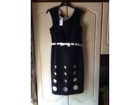 Size 14 black dress by Daisy May