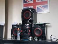 Lg hifi speaker system 700w VERY GOOD BASS (1month old)