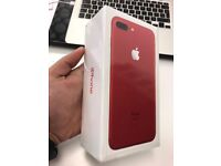 iPhone 7 Plus( Red limited edition )256 Gb factory unlocked in sealed box!!!