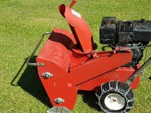 Snow Blower 8HP Dual Auger Chain Drive Gas Vintage Craftsman