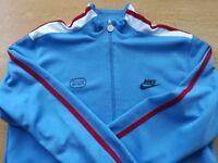 Nike track jacket Sky Blue ( Medium size 38-40 ) As new