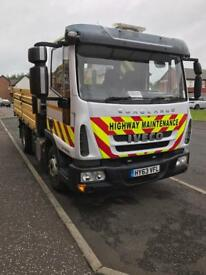 Iveco 7.5ton tipper truck