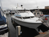 FOR SALE: SEAMIST SEA ANGLING BOAT; TWIN DIESEL ENGINES