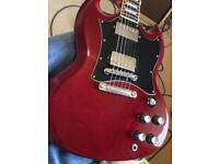Gibson SG Standard 1996 heritage cherry with hard case
