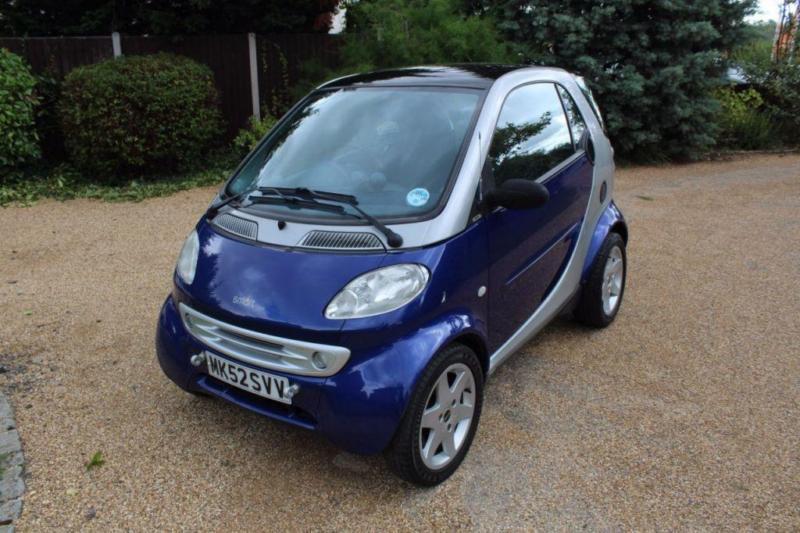 CHEAP CAR - 2002 52 SMART CITY 0.6 PULSE SOFTOUCH (RHD) 2D AUTO 61 BHP
