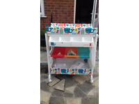 Cosatto changing table including bath