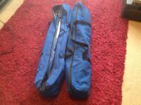 2 folding camping beds