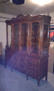 Antique Rosewood Hutch *REDUCED*