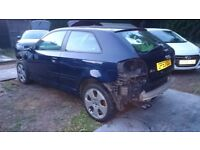 AUDI A3 2.0 FSI - SHELL ONLY - MUST SELL - OFFERS WELCOME