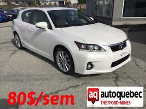 2013 Lexus CT 200h !! BAS MILLAGE !!