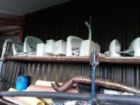 large selection of sinks