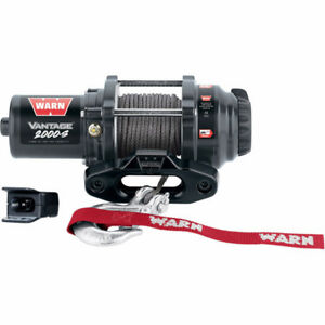Warn Winch - Vantage Series - 5 Year Warranty