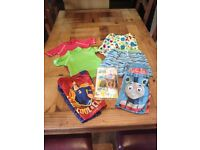 Boys swimwear clothing bundle age 2-4
