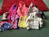 Girls Clothes for ages 3-4 Years.