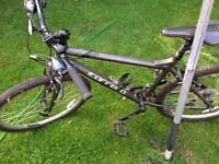 Carrera Ltd edition hybrid bike