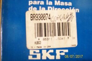 SKF REAR HUB BEARING ASSEMBLY WITH ABS # BR930074